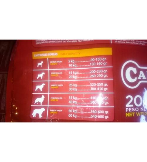 Canun Invictus Competition - Pui,Miel,Somon si Orez - 20 kg
