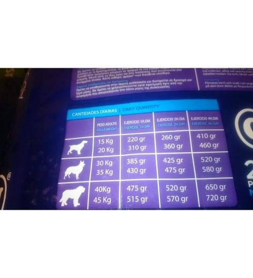 Canun Trabajo High Energy - Pui,Vită si Orez - 20 kg
